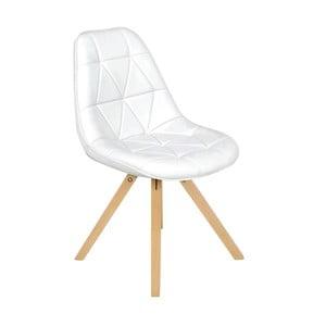 Bílá židle InArt