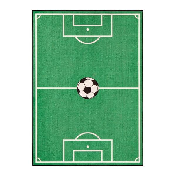 Dětský zelený koberec Zala Living Football,160x240cm