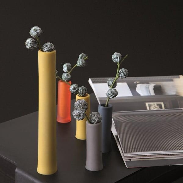 Univerzální nádoba/váza Assolo Basso, šedá