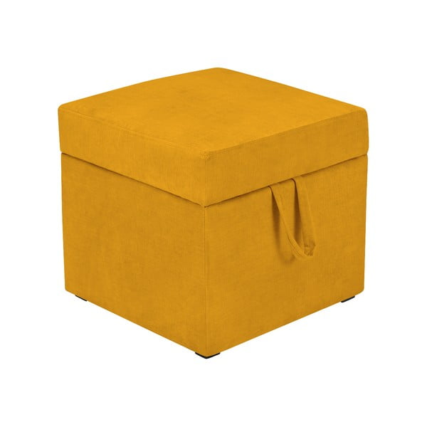 Cube sárga ülőke tárolóhellyel - KICOTI