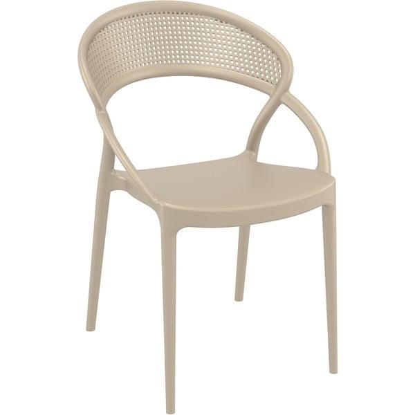 Set 4 scaune de grădină Resol Sunset, bej