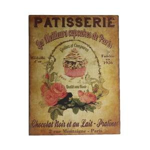 Nástěnná dekorace Patisserie Plaque