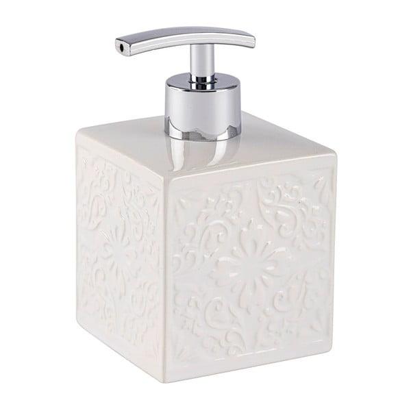 Biały dozownik do mydła Wenko Cordoba