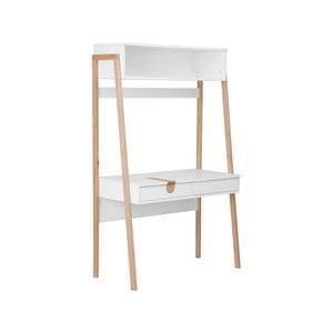 Bílý stolek KICOTI Space