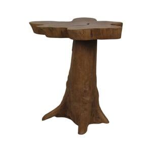 Příruční stolek  z teakového dřeva HSM collection Bintang