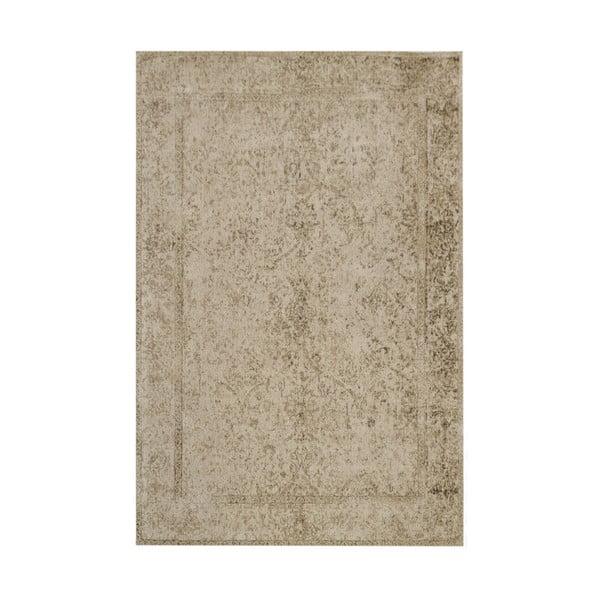 Vlněný koberec Canada, 160x230 cm, hnědý