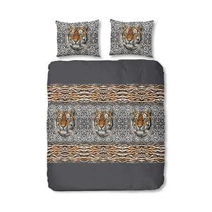 Lenjerie de pat din bumbac Jungle Life, 240 x 200 cm