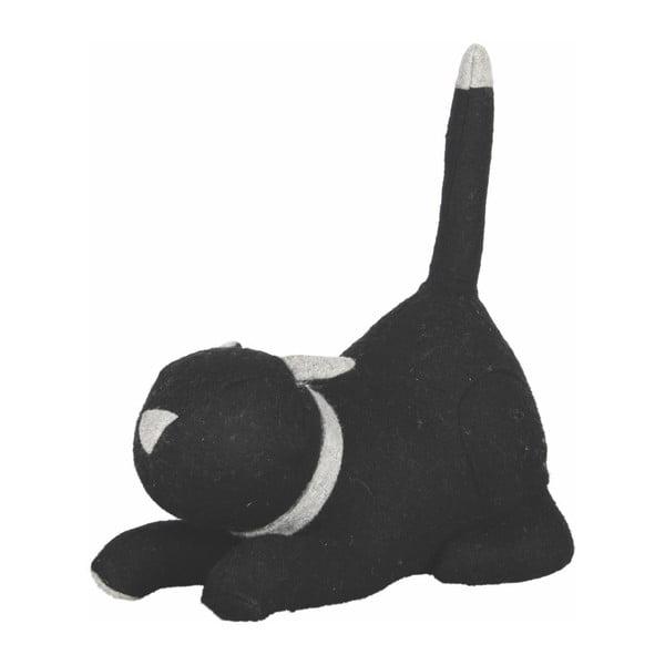 Čierna zarážka na dvere Ego Dekor Cat