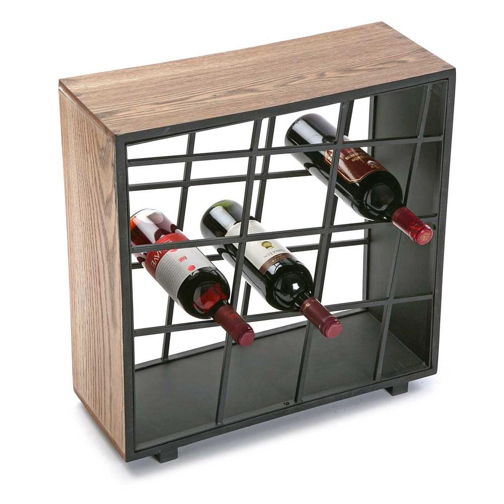 Dřevěný stojan na víno Versa