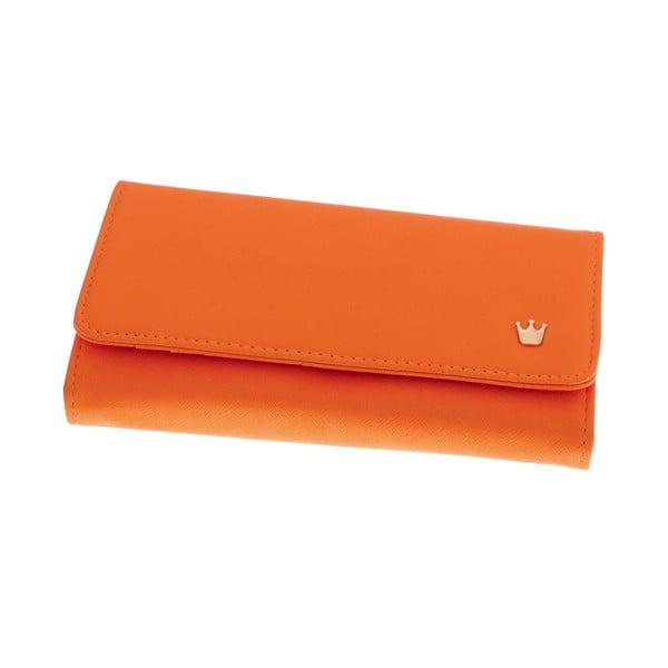 Dámská velká peněženka Queen, oranžová