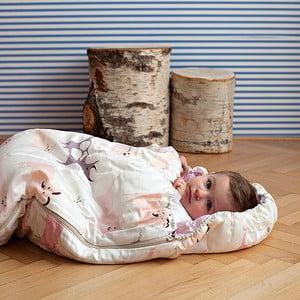 Sac de dormit pentru copii Bartex Animăluțe roz, 70 x 165 cm