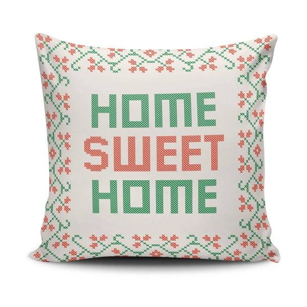 Polštář s výplní Sweet Home, 45x45 cm