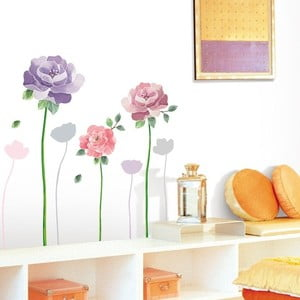 Set autocolante Ambiance Rose Flowers