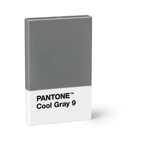 Šedé pouzdro na vizitky Pantone