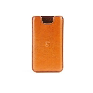 Danny P. kožený obal na iPhone 5S Cognac
