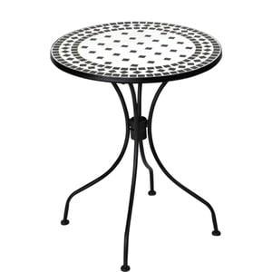 Černobílý stůl s mozaikou Butlers Palazzo