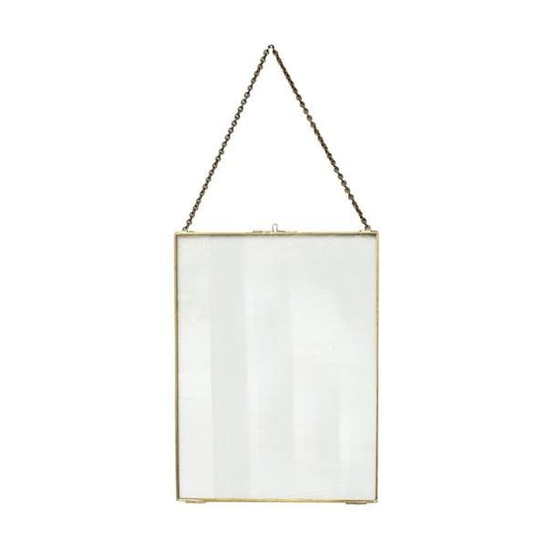 Závěsný rámeček ComingB Glass Brass, 30x40 cm