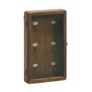 Skříňka na klíče Antique Look, 50x30 cm
