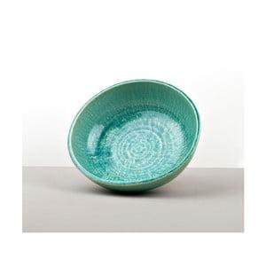 Tyrkysová keramická mísa Made In Japan Turq, ⌀23cm