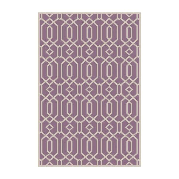 Vinylový koberec Rejilla Lila, 200x300 cm