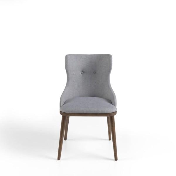 Šedá židle Ángel Cerdá Otta