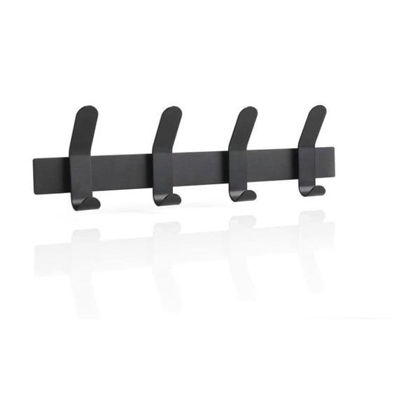 A-Rack fekete acél fali fogas - Zone