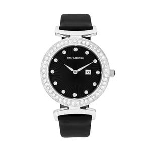 Dámské hodinky Levanger Black/Silver