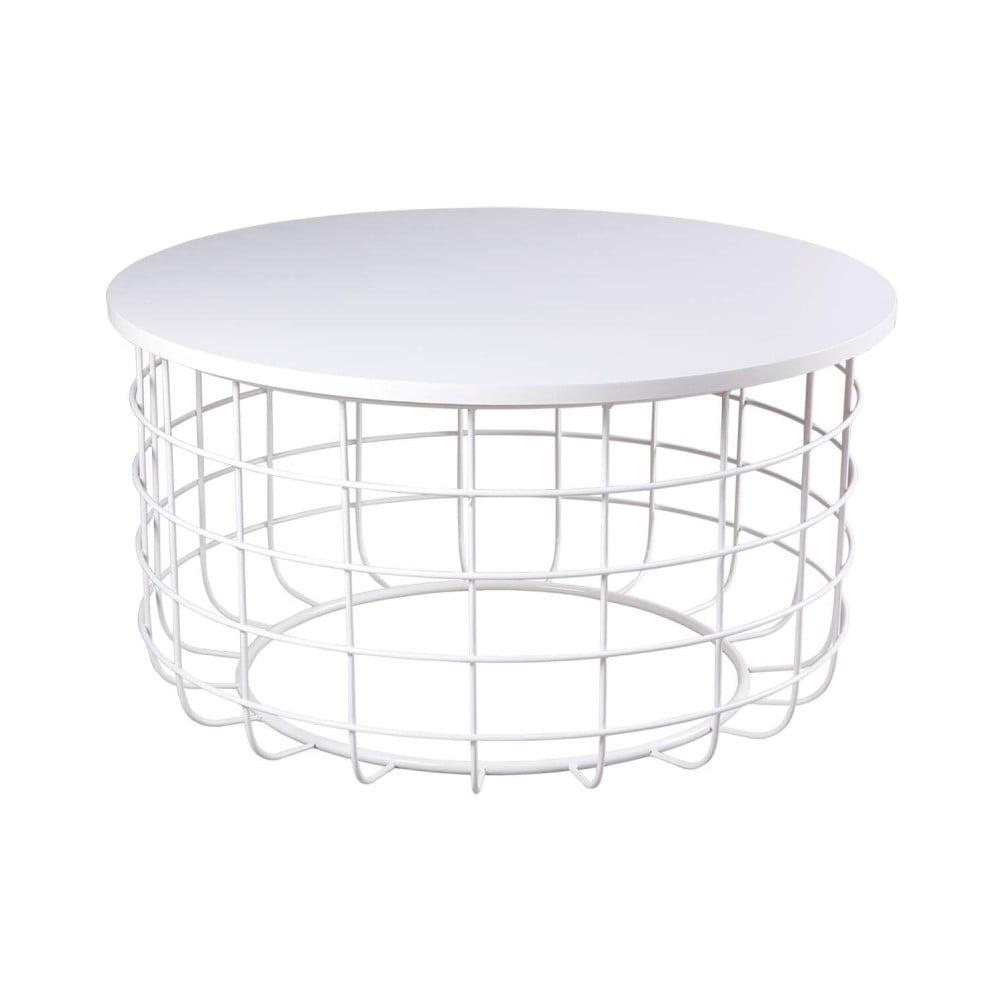 Bílý konferenční stolek sømcasa Celso