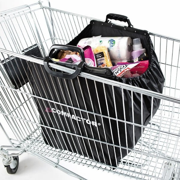 Nákupní taška s úchyty Compactor Keep Shopping