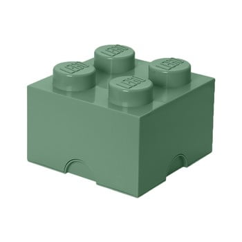 Cutie depozitare LEGO® Mini Box II, verde imagine