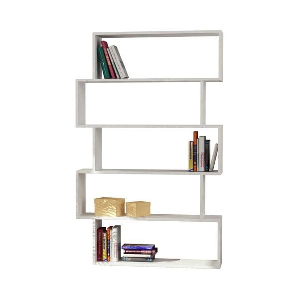 Knihovna Kat 161x100 cm, bílá
