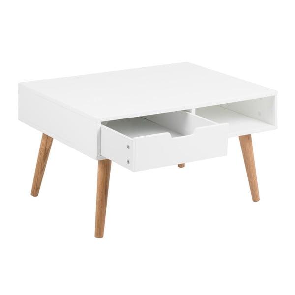 Biały stolik Actona Mitra, 80x45,5 cm