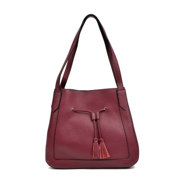 Czerwona torebka skórzana Roberta M Anete