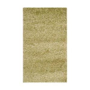 Koberec Safavieh Crosby Shag, 91x152 cm, zelený