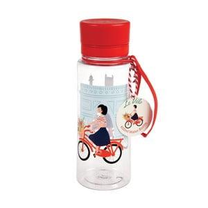 Plastová lahev na vodu Rex London Le Vélo, 600ml