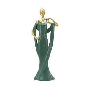 Smaragdově zelená dekorativní soška Mauro Ferretti Donna