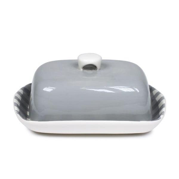 Máslenka Butter Dish, šedá