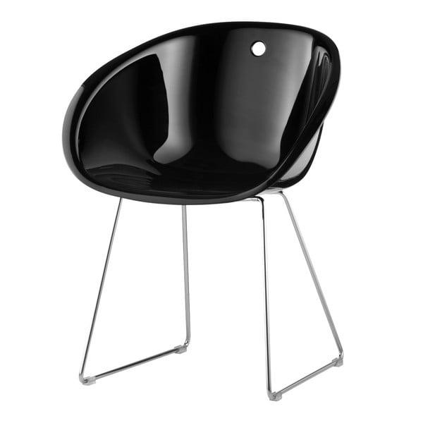 Žlutá židle Gliss Pedrali 921