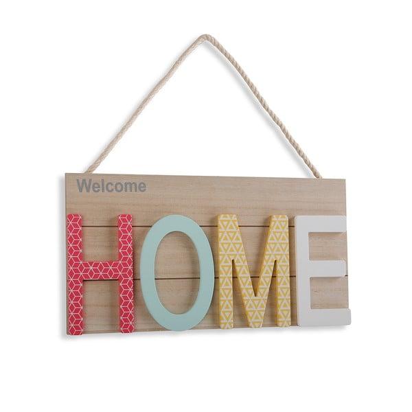 Barevná závěsná dekorace ze dřeva VERSA Home, 38 x 20 cm