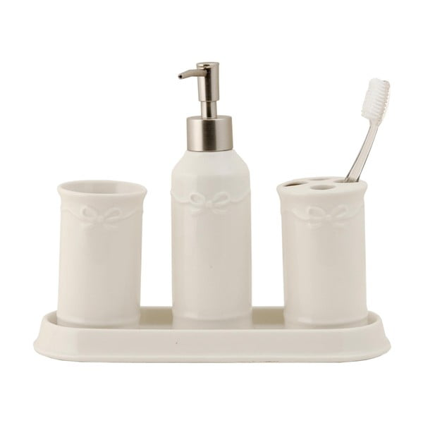 Koupelnový set White (4 ks)