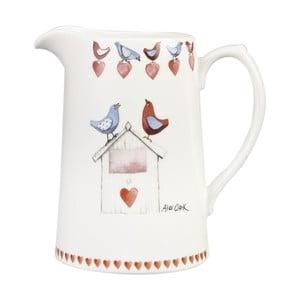 Džbán Churchill China Lovebirds, 850 ml