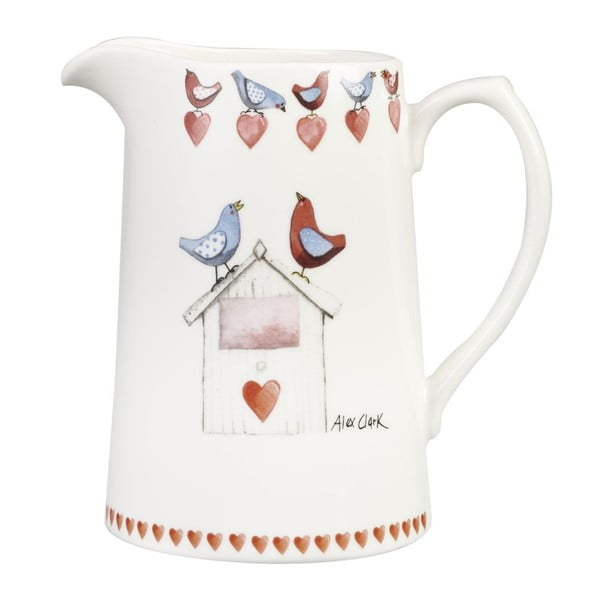 Džbán Churchill China Lovebirds, 850 ml