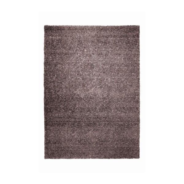 Koberec Spacedyed z novozélandské vlny, 140x200 cm, hnědý