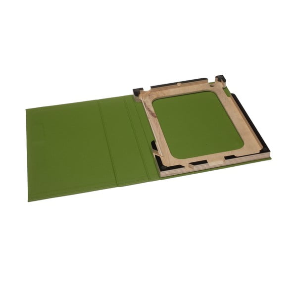 Obal na iPad 2/3, zelený/černý
