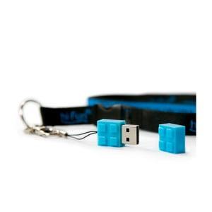 USB flashka Hi-Memory 4GB, modrá