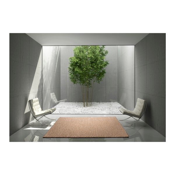 Béžový koberec vhodný i na ven Universal Catay, 100 x 150 cm