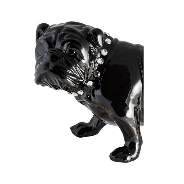Keramická dekorace Fisura Bulldog Dark