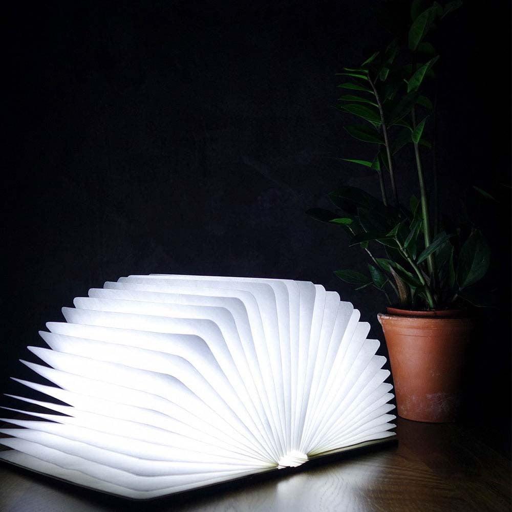 LED stolní lampa ve tvaru knihy Gingko Smart Book