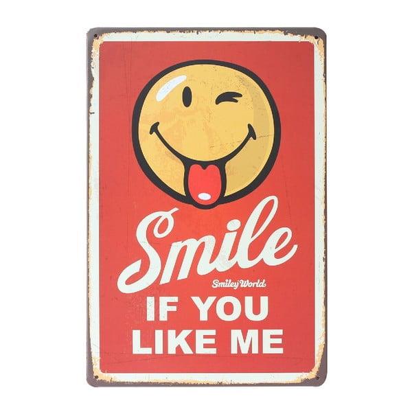 Cedule Smiling, 20x30 cm