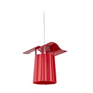 Lampadar suspendat pentru grădină Luciana, roșu